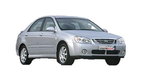 Kia Cerato 1.6 (104bhp) Petrol (16v) FWD (1599cc) - (2004-2007) Saloon