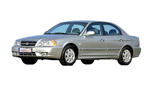 Kia Magentis 2.5 (166bhp) Petrol (24v) FWD (2493cc) - (2001-2004) Saloon