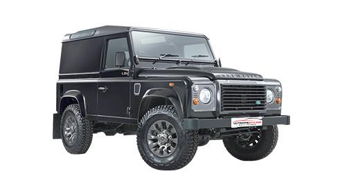 Land Rover Defender 90 2.5 (68bhp) Diesel (8v) 4WD (2495cc) - (1990-1994) ATV