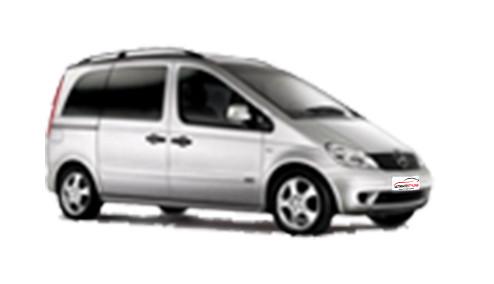 Mercedes Benz Vaneo 1.7 CDi (91bhp) Diesel (16v) FWD (1689cc) - W414 (2002-2006) MPV