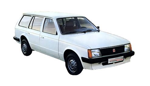 Vauxhall Astra D 1.3 (75bhp) Petrol (8v) FWD (1297cc) - MK 1 (D) (1980-1984) Estate