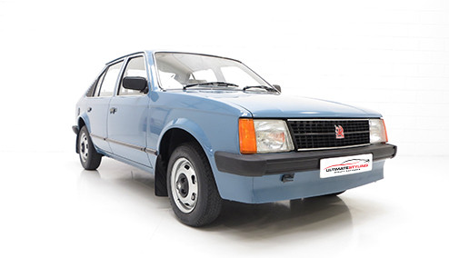 Vauxhall Astra D 1.6 (54bhp) Diesel (8v) FWD (1598cc) - MK 1 (D) (1982-1984) Hatchback