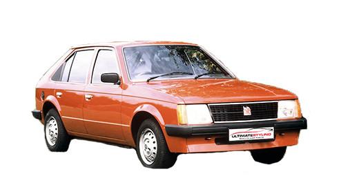 Vauxhall Astra D 1.2 (60bhp) Petrol (8v) FWD (1196cc) - MK 1 (D) (1980-1982) Saloon