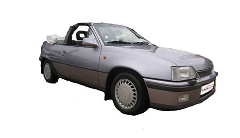 Vauxhall Astra E 1.6 Catalyst (82bhp) Petrol (8v) FWD (1598cc) - MK 2 (E) (1991-1993) Convertible