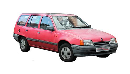 Vauxhall Astra E 1.6 (82bhp) Petrol (8v) FWD (1598cc) - MK 2 (E) (1986-1991) Estate