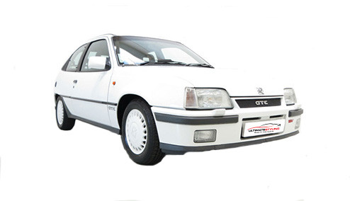 Vauxhall Astra E 1.6 (90bhp) Petrol (8v) FWD (1598cc) - MK 2 (E) (1984-1986) Hatchback