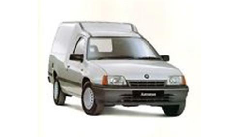 Vauxhall Bedford Astra E 1.7 (57bhp) Diesel (8v) FWD (1699cc) - MK 2 (E) (1989-1990) Van
