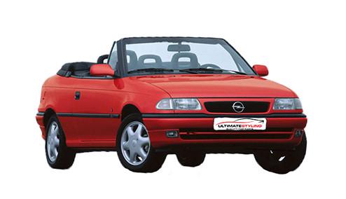 Vauxhall Astra F 1.6 SPi (74bhp) Petrol (8v) FWD (1598cc) - MK 3 (F) (1996-1999) Convertible