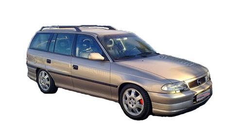 Vauxhall Astra F 1.7 TD/TDS (Isuzu) (81bhp) Diesel (8v) FWD (1686cc) - MK 3 (F) (1992-1998) Estate