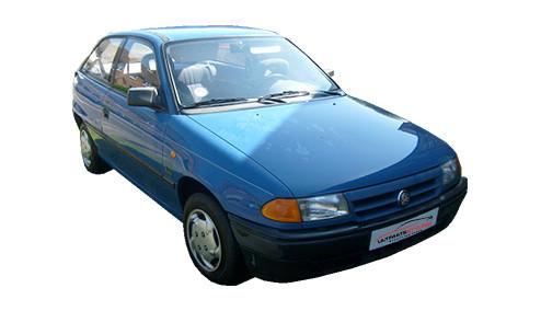 Vauxhall Astra F 1.6 E-Drive (69bhp) Petrol (8v) FWD (1598cc) - MK 3 (F) (1993-1996) Hatchback