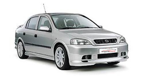 Vauxhall Astra G 1.6 (99bhp) Petrol (16v) FWD (1598cc) - MK 4 (G) (1998-2004) Saloon