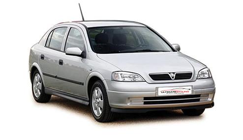 Vauxhall Astra G 1.7 TD (67bhp) Diesel (8v) FWD (1700cc) - MK 4 (G) (1998-2000) Hatchback
