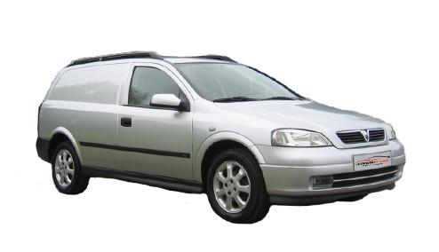 Vauxhall Astra G 1.6 Dual Fuel (84bhp) Petrol/LPG (8v) FWD (1598cc) - MK 4 (G) (2000-2004) Van