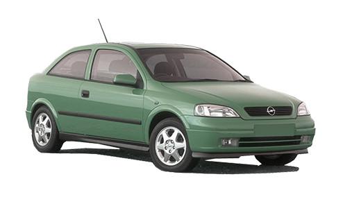 Vauxhall Astra G 1.8 Dual Fuel (123bhp) Petrol/LPG (16v) FWD (1796cc) - MK 4 (G) (2002-2004) Coupe