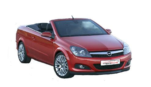 Vauxhall Astra H 1.6 TwinTop (113bhp) Petrol (16v) FWD (1598cc) - MK 5 (H) (2006-2011) Convertible