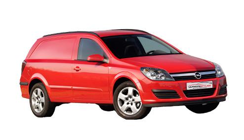 Vauxhall Astra H 1.7 CDTi 125 (123bhp) Diesel (16v) FWD (1686cc) - MK 5 (H) (2011-2013) Van