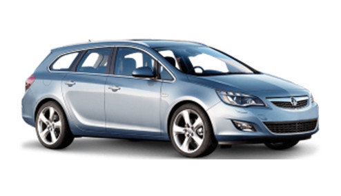Vauxhall Astra J 1.4 100 (99bhp) Petrol (16v) FWD (1398cc) - MK 6 (J) (2010-2016) Estate