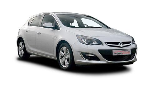 Vauxhall Astra J 1.6 Turbo 180 (178bhp) Petrol (16v) FWD (1598cc) - MK 6 (J) (2009-2015) Hatchback