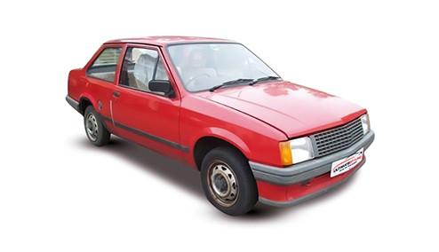 Vauxhall Nova 1.3 (69bhp) Petrol (8v) FWD (1297cc) - (1985-1989) Saloon